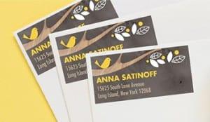 tinyprintsaddress labels