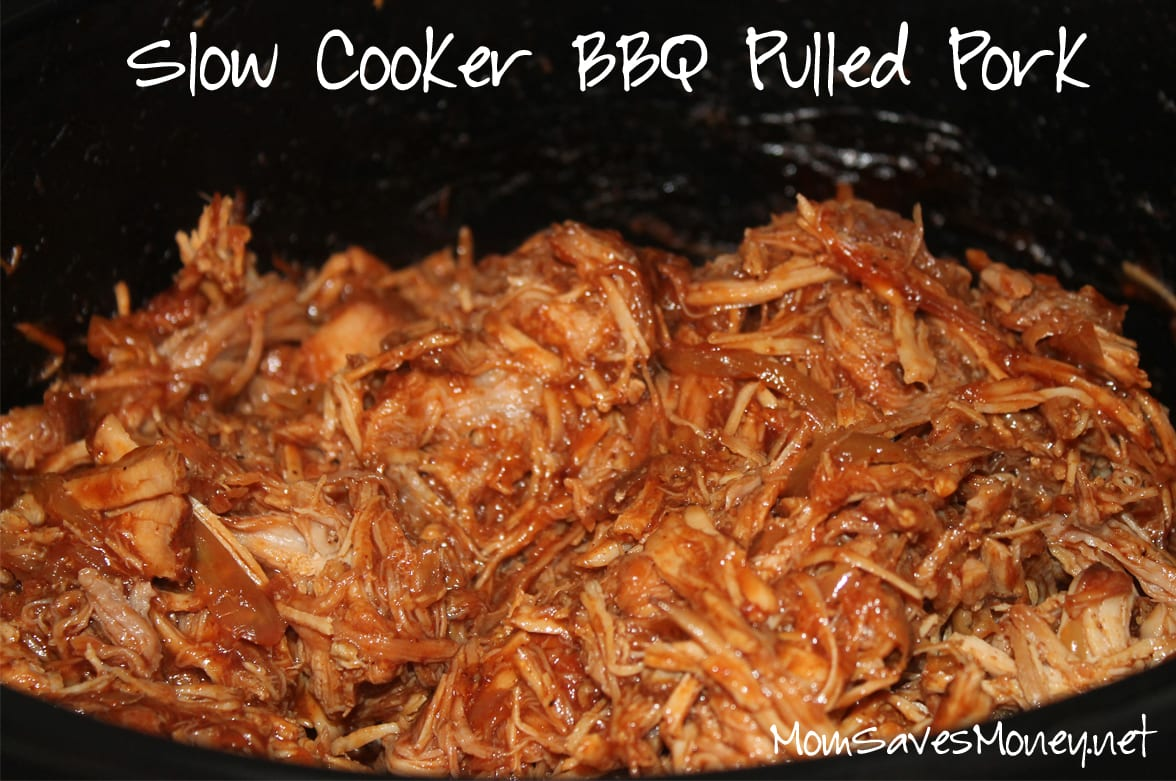 Recipe - Slow Cooker BBQ Pulled Pork! - Mom Saves Money
