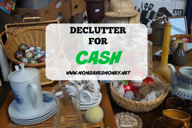declutter cash