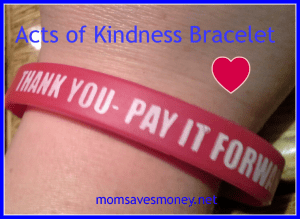 acts of kindness bracelet