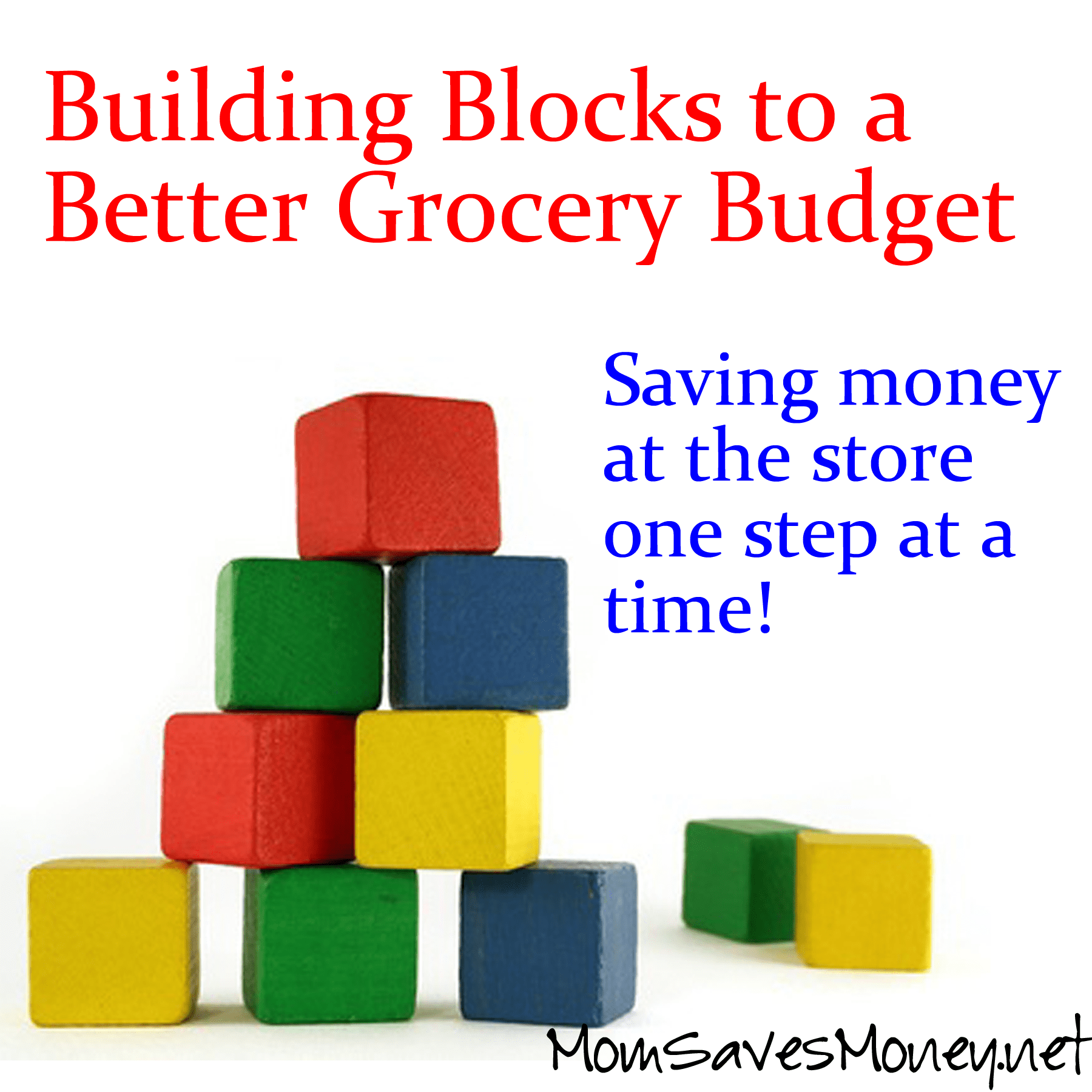 Building Blocks to a Better Grocery Budget! Part 8 - Know
