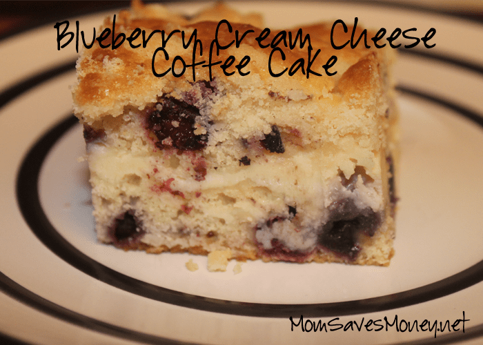 Blueberry Coffee Cake With Cream Cheese Filling
