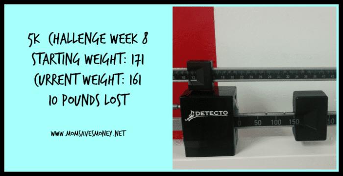 5k training week 8