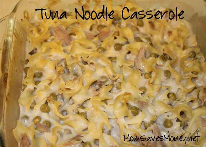 Recipe – Easy Tuna Noodle Casserole! Bonus Meal Plan for This Week's ...