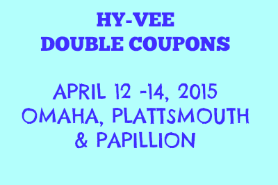 Does hyvee double coupons