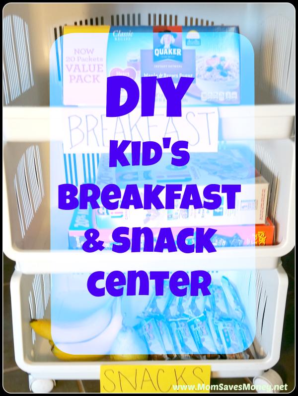 Diy breakfast center