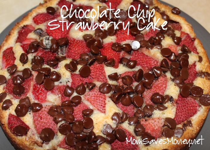 chocolatechipstrawberrycake