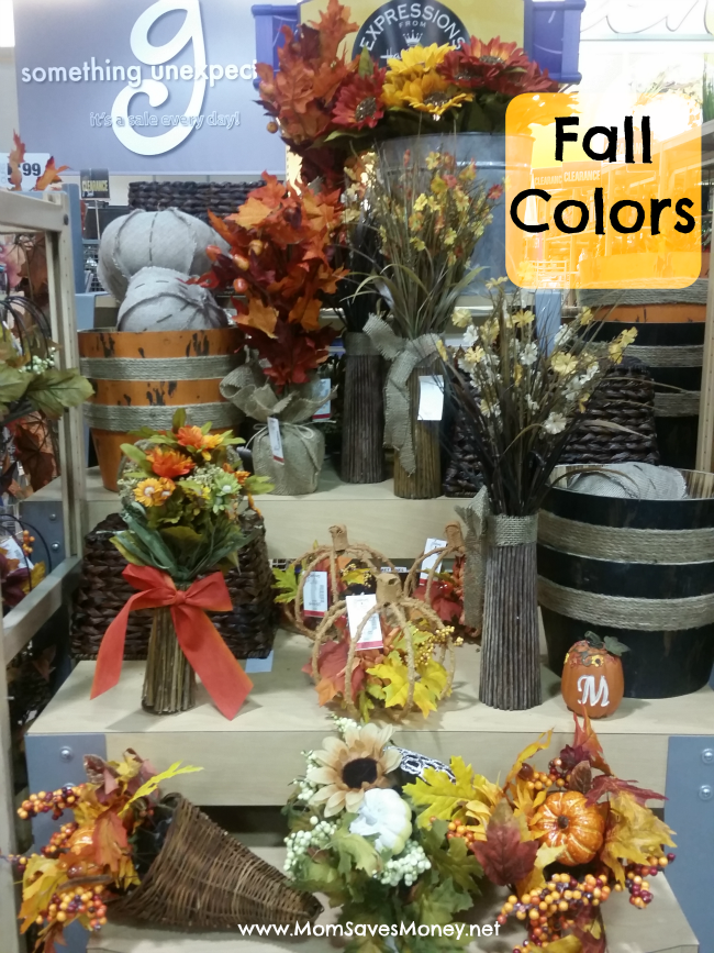 fall colors at Gordmans