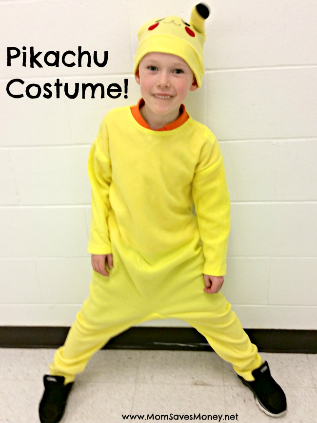pikachu costume  sc 1 st  Mom Saves Money & Finding the Perfect Pikachu Costume for a Super Fan! - Mom Saves Money