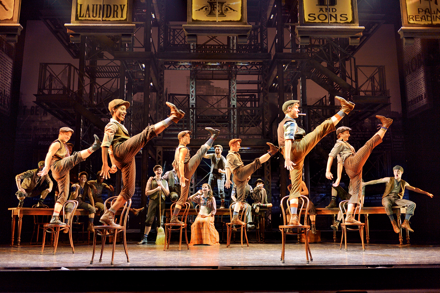 Newsies, a Disney Theatrical Production