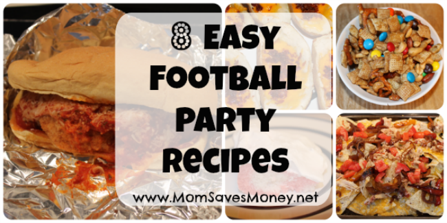football party recipes 2