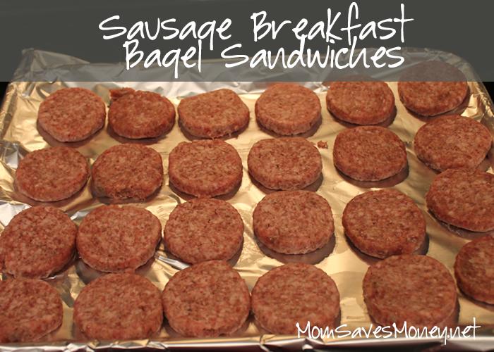 sausagebagelbreakfastsandwiches