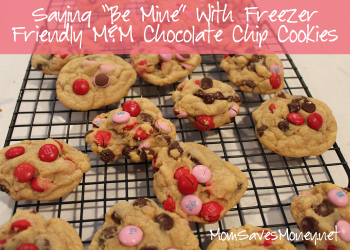 Recipe Valentine S Day M M Chocolate Chip Cookies Mom Saves Money