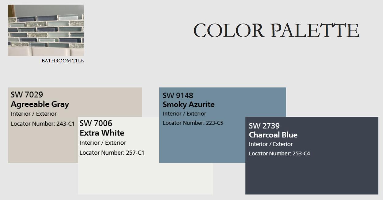 100 253 Best Blue Gray Paints Bathroom Paint Color