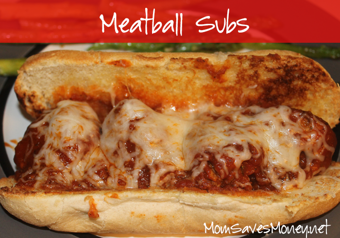Recipe Easy Meatball Subs Mom Saves Money