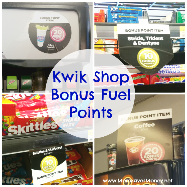kwik shop bonus points
