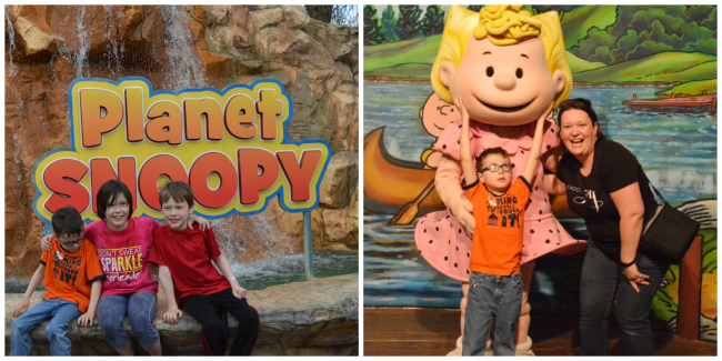 Planet snoopy wof