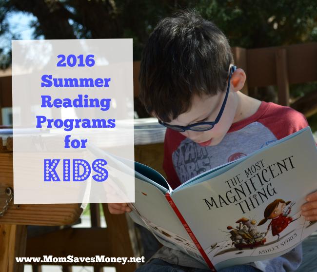 2016 reading programs