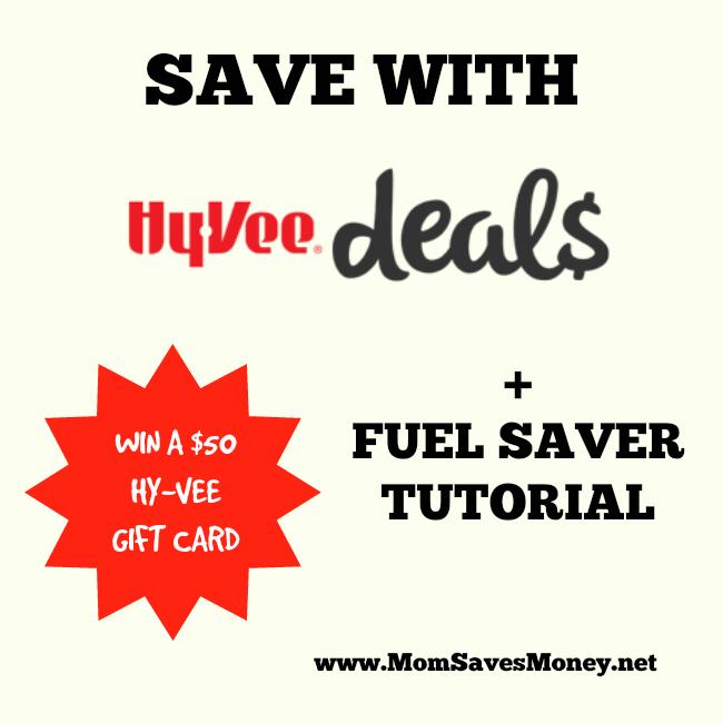 hyvee deals and fuel saver