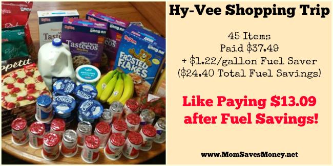 hyvee fuel saver