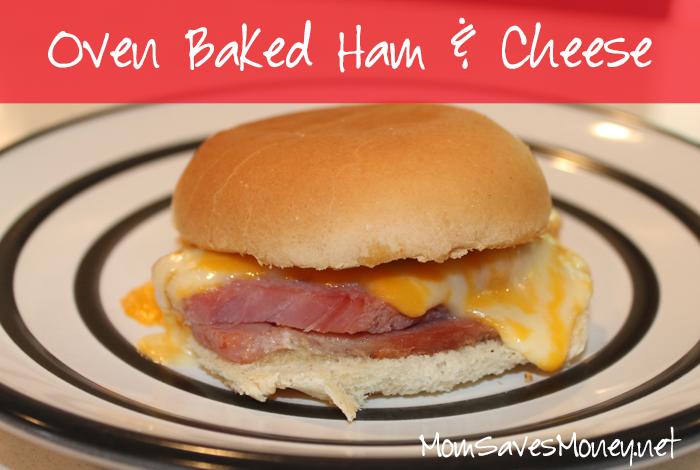 Oven Baked Ham & Cheese SandwichesYUM