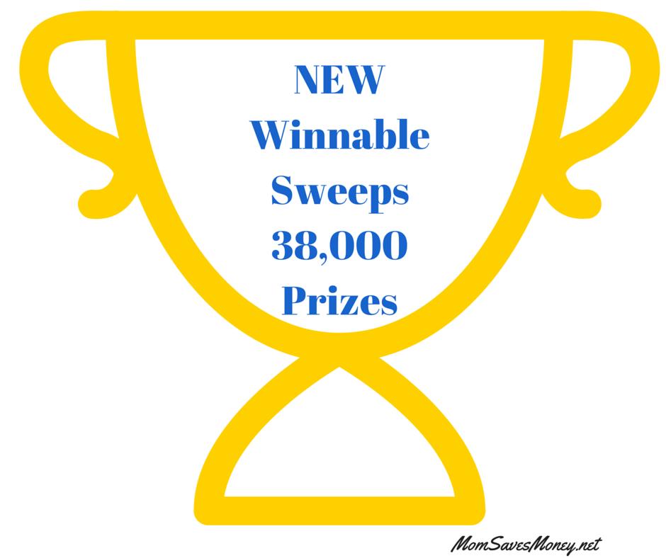 NEWWinnableSweeps22,000Prizes (5)