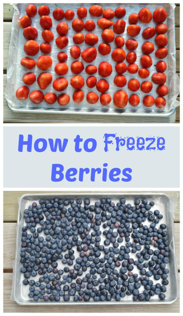 freeze berries easily