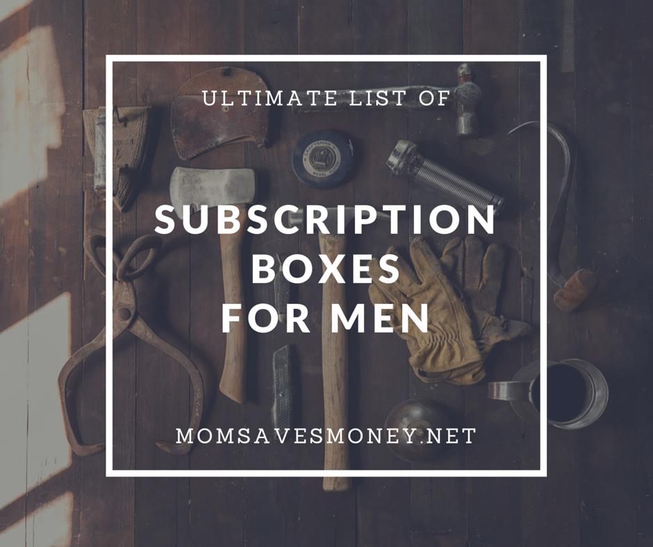 subscription boxesfor men