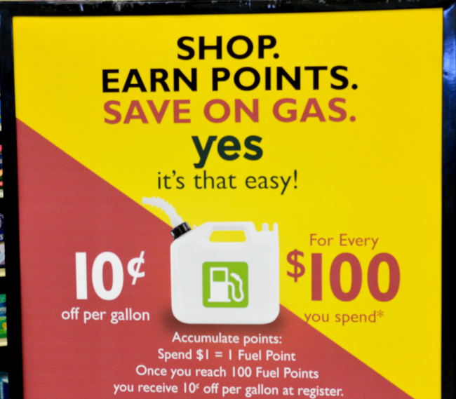 family fare fuel savings