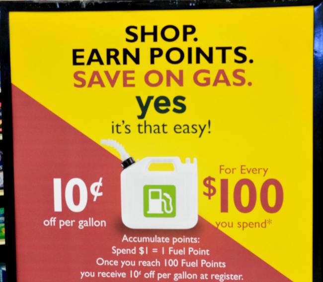 family fare fuel savings