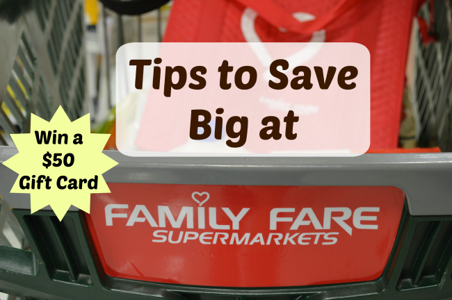 family fare save big tips