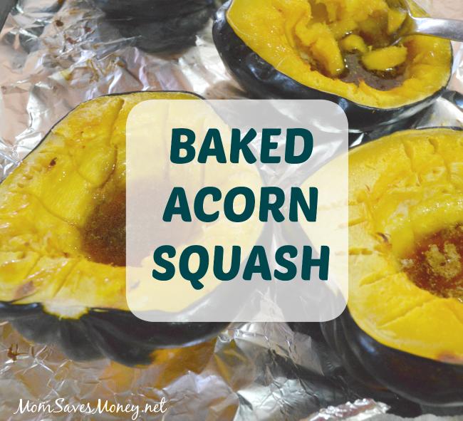 baked squash