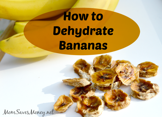 banana dehydration