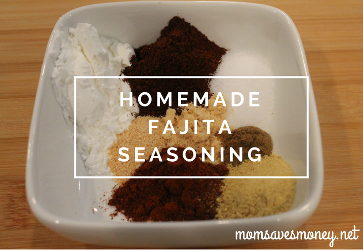 Homemade Fajita Seasoning - make it once, use it lots!
