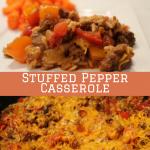 Stuffed Pepper Casserole!