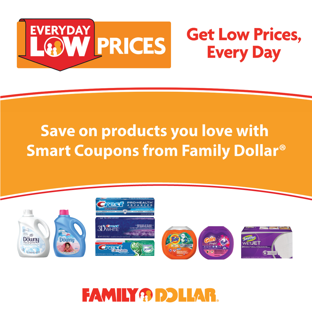 digital coupons at family dollar