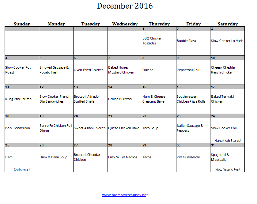 december2016dinners