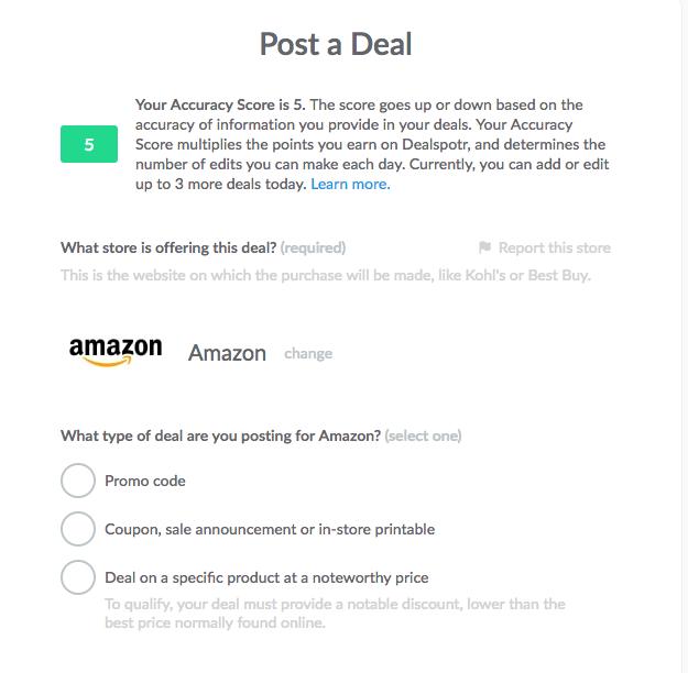 post a deal