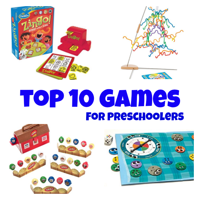 preschool game ideas