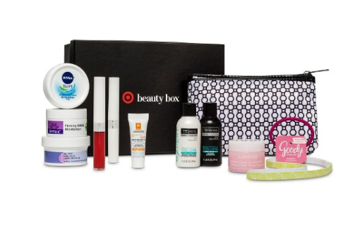 target-womens-beauty-box