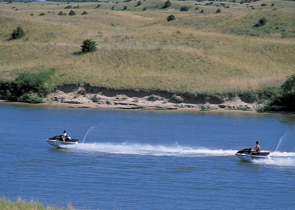 Calamus Reservoir. Photo credit: Nebraska Tourism