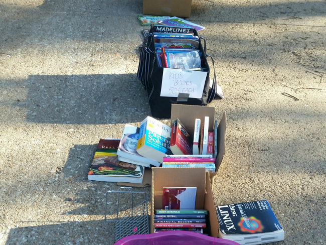 garage-sale-books