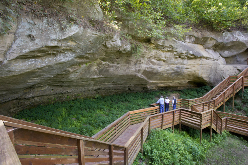 Indian Cave State Park. Photo credit: Nebraska Tourism