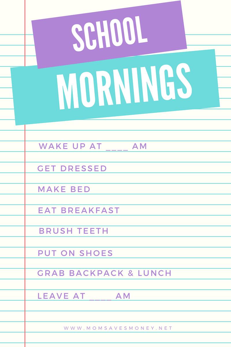 Things To Buy Before School Starts