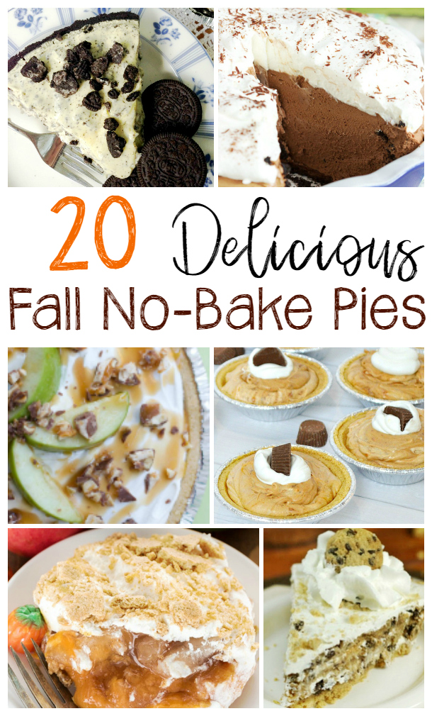 no bake pies