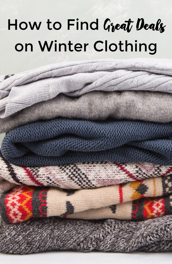 How to Find Great Deals on Winter Clothing - Mom Saves Money