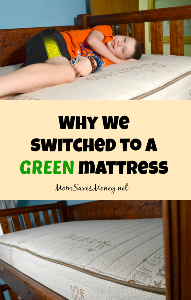 See why our family switched to non-toxic mattresses from MyGreenMattress.com. They provide affordable non-toxic mattresses, sheets and bed toppers perfect for the whole family.