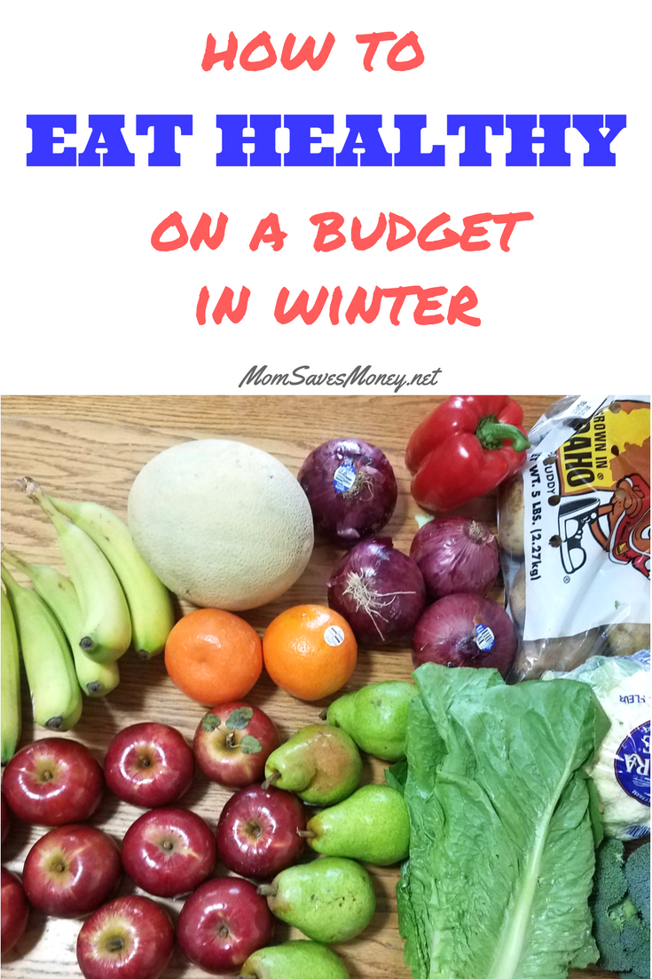 5 simple tips to eat more fruit and vegetables in the winter months, even on a budget!