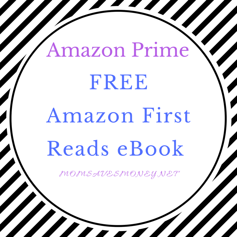first reads, amazon prime, one free kindle ebook every month