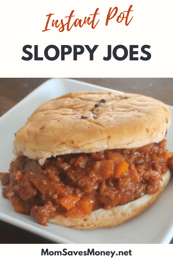 instant pot sloppy joes